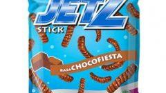 Ilustrasi Snack Jetz varian coklat