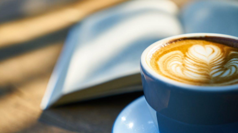 ilustrasi secangkir minuman kopi